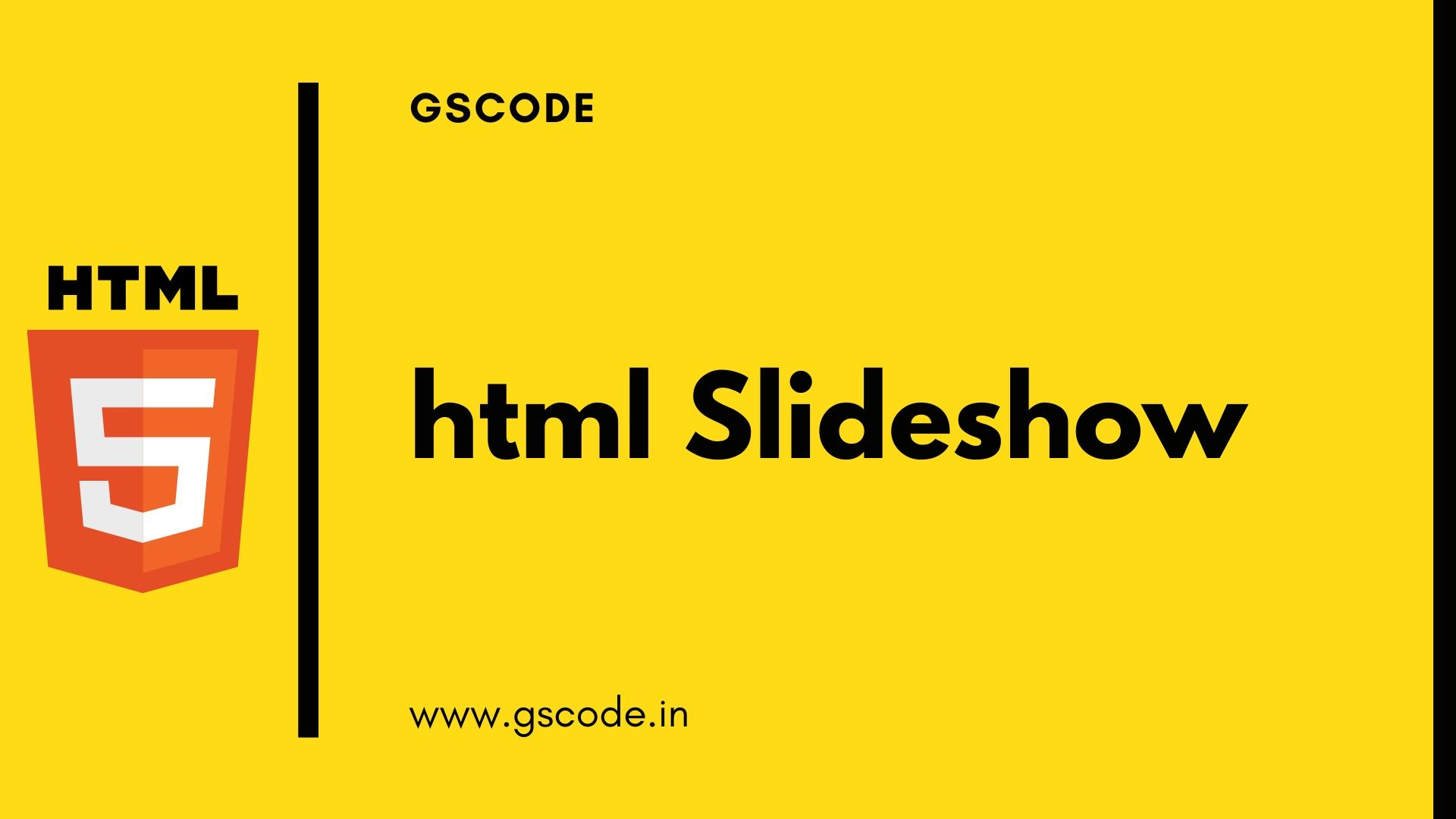 20+ HTML Slideshow Template