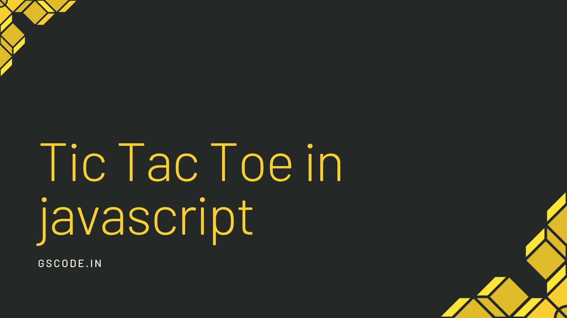 20+ Amazing Tic Tac Toe Games Example made with javascript