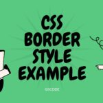 30+ CSS border Style example